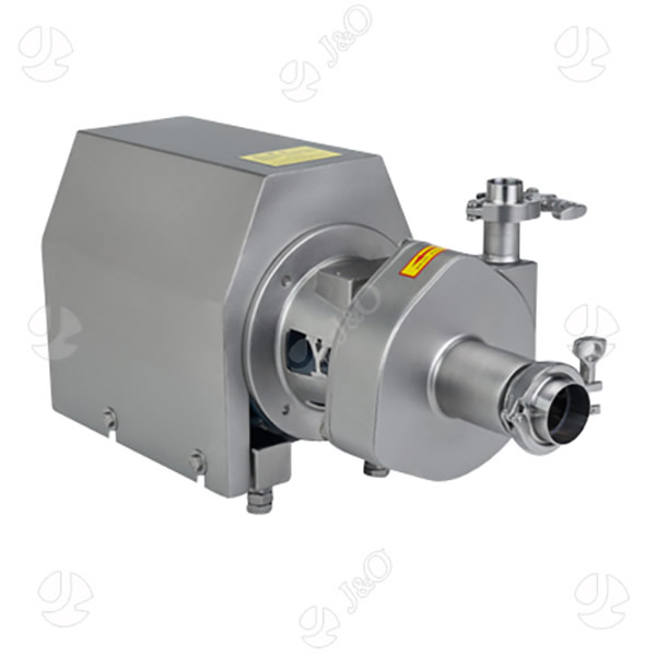Self-priming Pump With Clamp Ends