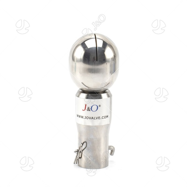 Sanitary Stainless Steel Botlted Rotary Spray Cleaning Ball