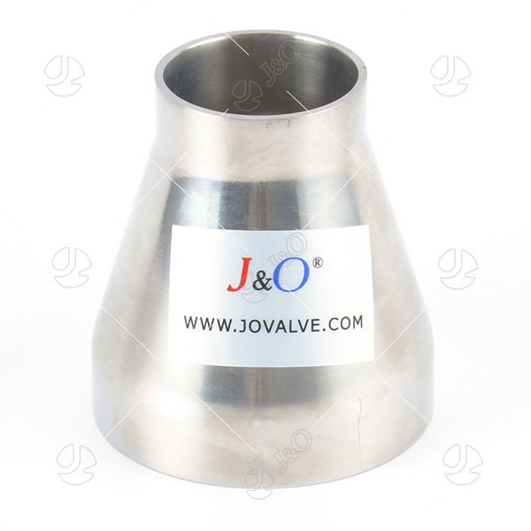 Sanitary Stainless Steel Butt Weld Welding Concentric Reducer With Straight End