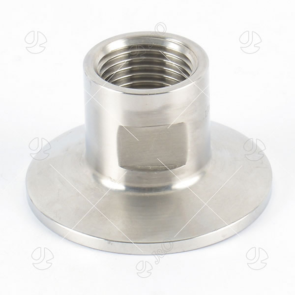 Sanitary Stainless Steel Female-Clamped Adapter