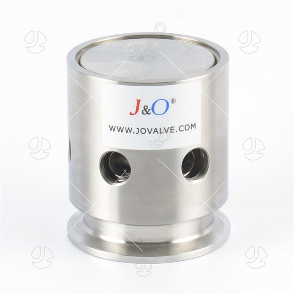 Sanitary Stainless Steel Clamp Pressure Vacuum Relief Valve