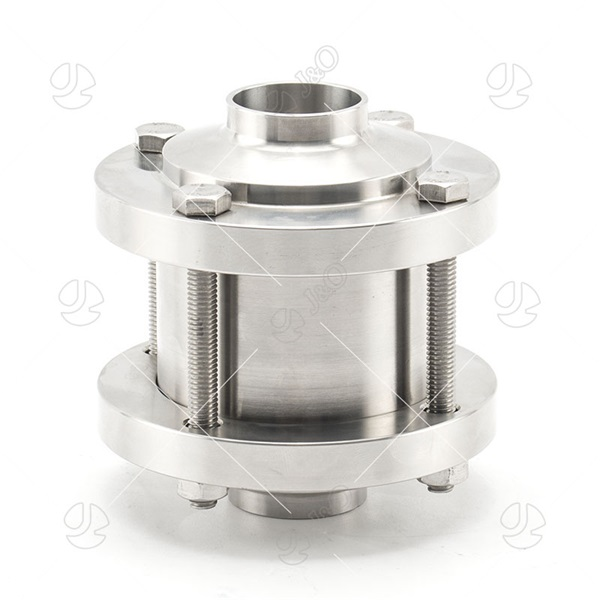 Sanitary Stainless Steel Flange Type Check Valve