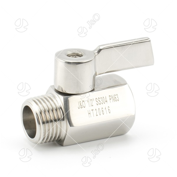 Male Female Stainless Steel Mini Ball Valve